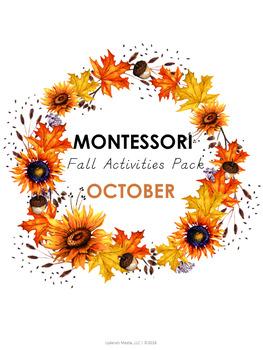 Montessori October Activities Pack