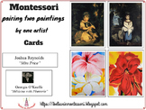 Pairing two paintings by one artist Cards