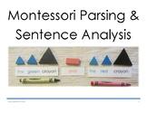 Montessori Parsing and Sentence Analysis