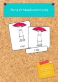 Montessori Parts Of MUSHROOM Cards