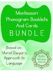 Montessori Phonogram Booklets & Folders BUNDLE