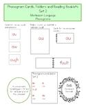Montessori Phonogram Folders And Booklets - Set 2