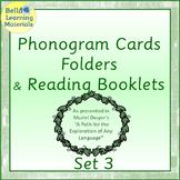 Montessori Phonogram Folders And Booklets - Set 3