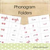 Montessori Phonogram Reading Folders