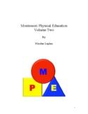 Montessori Physical Education Volume 2