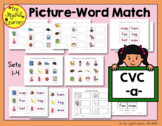 Picture-Word Match: CVC -a- Words
