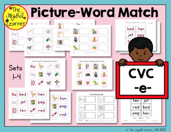 Picture-Word Match: CVC -e- Words
