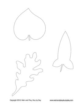 Montessori Pin Punching:  Leaves