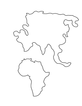 Montessori Pin Punching:  World Map
