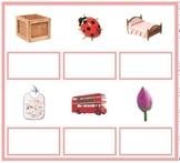 Montessori Pink Series 4 Matching Cards