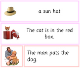 Montessori Pink Series 42 Phrases and Sentences