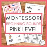 Montessori Language Pink Series Beginning Sounds