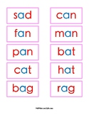 Montessori Pink Series Photo and Word Cards
