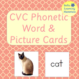 Montessori Pink Series Picture and Word Cards