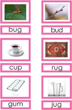 Montessori Pink Series Reading Materials
