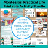 Montessori Practical Life Activities & Printables Bundle
