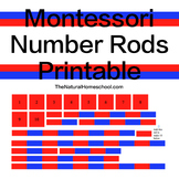 Montessori Printable Number Rods