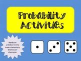 Montessori Probability Material