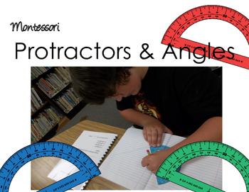 Montessori Protractors and Angles