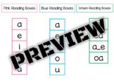 Montessori Reading Boxes
