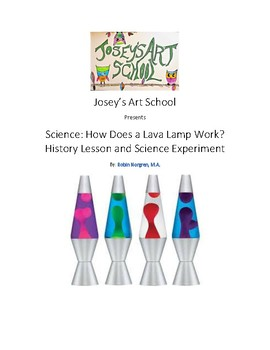 Montessori Science Make a Lava Lamp Pre-K Elementary Reggio