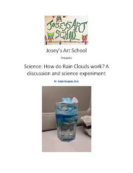 Montessori Science Making Rain Clouds Experiment Lesson Pre-K Elementary Reggio