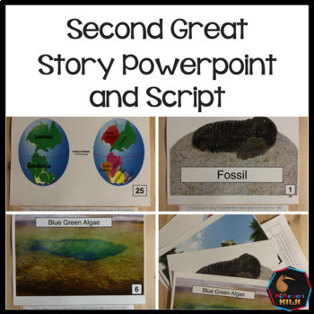 Montessori Second Great Story Script and Powerpoint