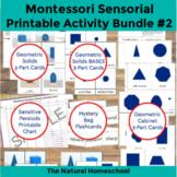Montessori Sensorial 7-Set Bundle of Printable 3-Part Cards