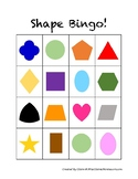 Montessori Shape Bingo - Printable Game!