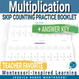 Montessori Skip Counting Multiplication Booklet