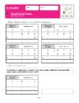 Montessori Small Bead Frame Static Multiplication Workbook