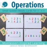 Montessori Small Card Operations Set