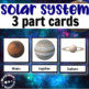 Montessori Solar System 3 Part Cards to Teach Planets