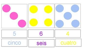 Montessori Spanish Counting