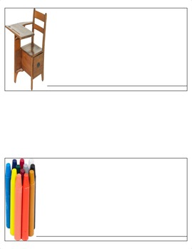 Montessori Spelling Tags- Moveable Alphabet