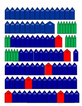 Arrows for Montessori Bead Chains
