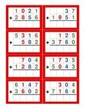 Montessori Stamp Game Addition Cards