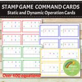 Montessori Stamp Game Command Cards BUNDLE