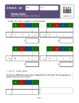 Montessori Stamp Game Division Static (1-digit divisor, skittles) Workbook