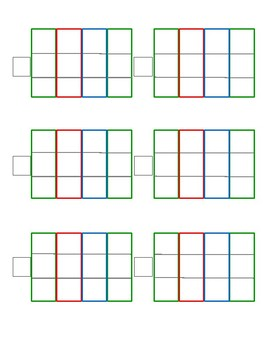 Montessori Stamp Game Paper
