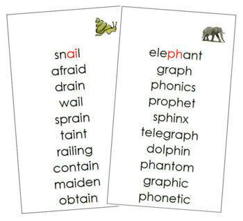 Montessori Step 3 Language Series Bundle
