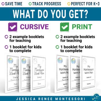 Montessori Work Plan