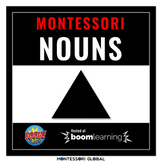 Montessori | Grammar Boom Cards | Nouns | 24 Decks | Distance Learning