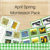 Montessori Style Activities for April and Spring