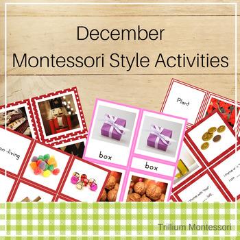 Montessori Style Activities for December