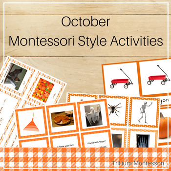 Montessori Style Activities for October