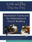 Montessori Style Schematics Cardwork For Electronics and Circuit Building