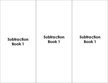 Montessori Subtraction Book 1