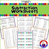 Montessori Subtraction Worksheets