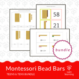 Montessori Teen & Ten Boards extension activity BUNDLE